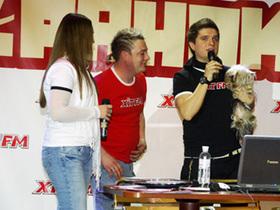 Прямой эфир утреннего шоу «Happy ранок на XIT FM» в концерт-холле Фридом (фото + видео)