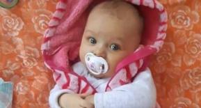 Соломія Лукашенко, 6 місяців