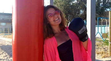 Карпополітен: тренування з боксу Карпова проводила, навіть, у Коблево