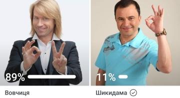 Олег Винник проти Віктора Павліка
