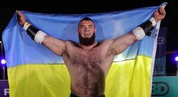 Ще одна найсильніша людина світу з України
