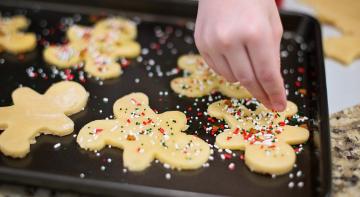 Коли їсте печиво